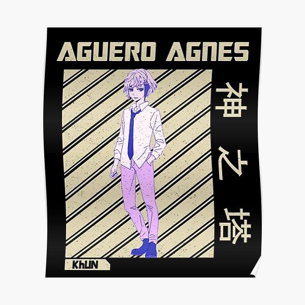 khun aguero agnes poster by simouser redbubble