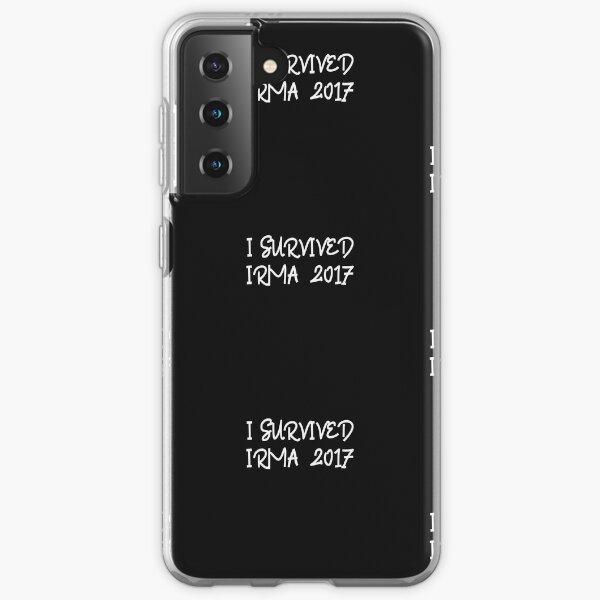 I Survived Irma 2017 Men's Women's Samsung Galaxy Soft Case