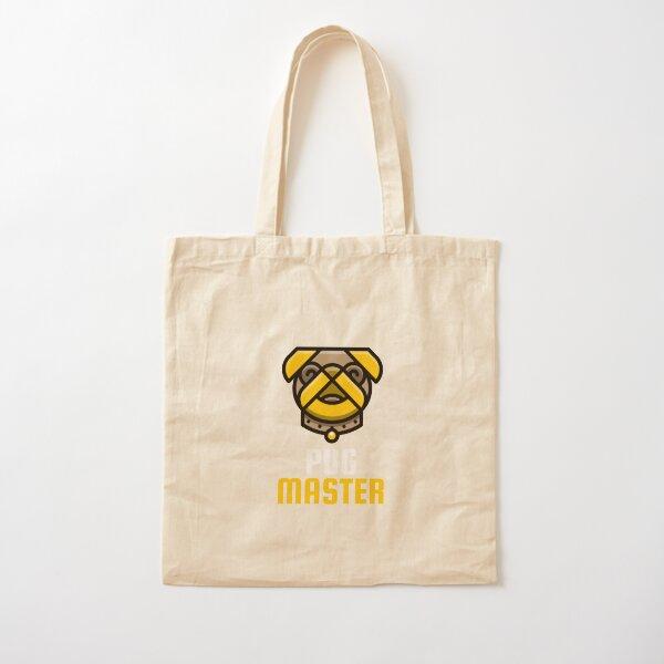 Pug master Cotton Tote Bag