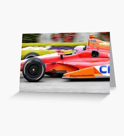 The Need For Speed Greeting Card