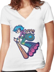 Ramona - Scott Pilgrim Women's Fitted V-Neck T-Shirt