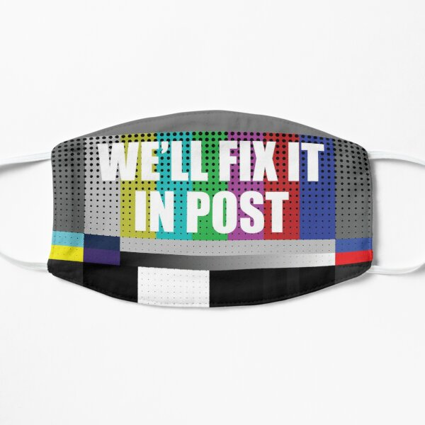 Cinematographer, Filmmaker, Film Crew Design - We'll Fix it in Post Mask