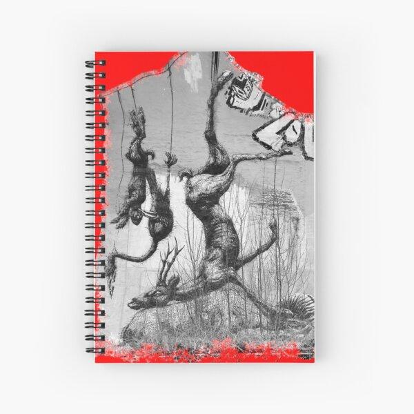 Street Art of Berlin Spiral Notebook