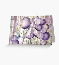Luscious Grapes from the Garden of Eden Greeting Card