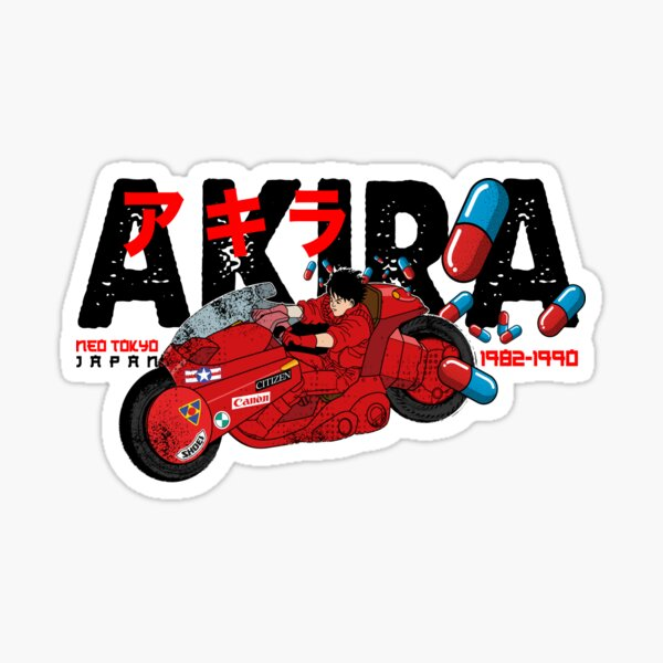 Kaneda Bike Stickers Redbubble