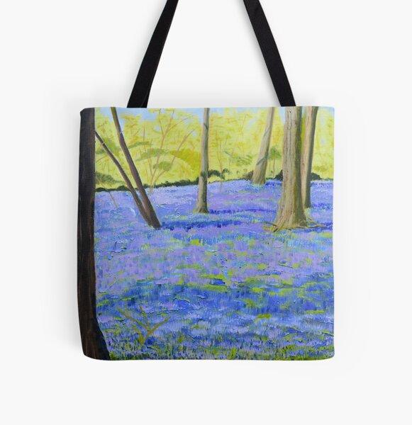 Hatchlands Bluebells All Over Print Tote Bag