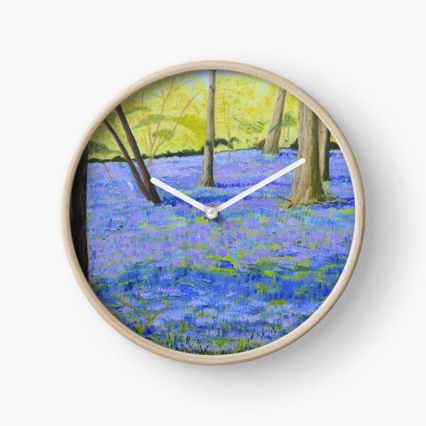 Hatchlands Bluebells Clock
