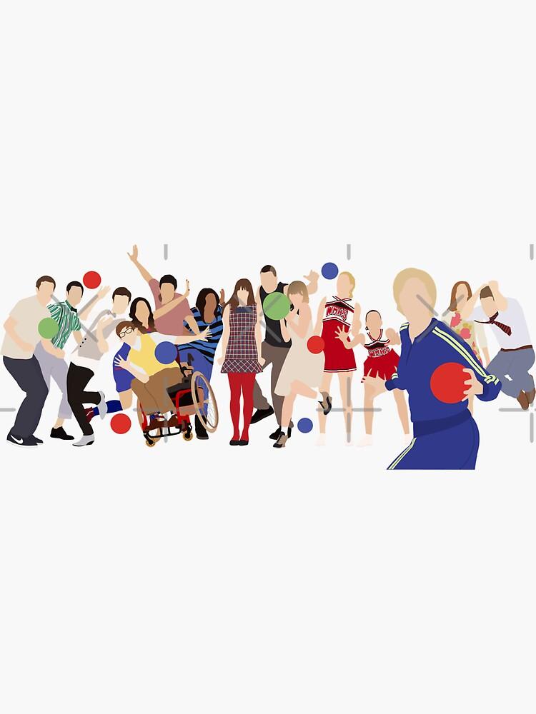Personajes Glee de JumpingHelen