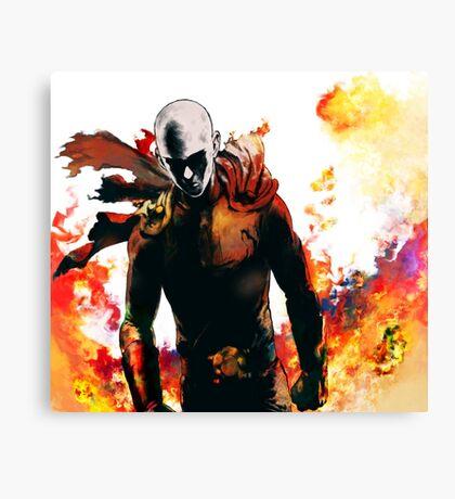 onepunch man Canvas Print