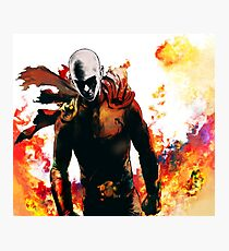 onepunch man Photographic Print