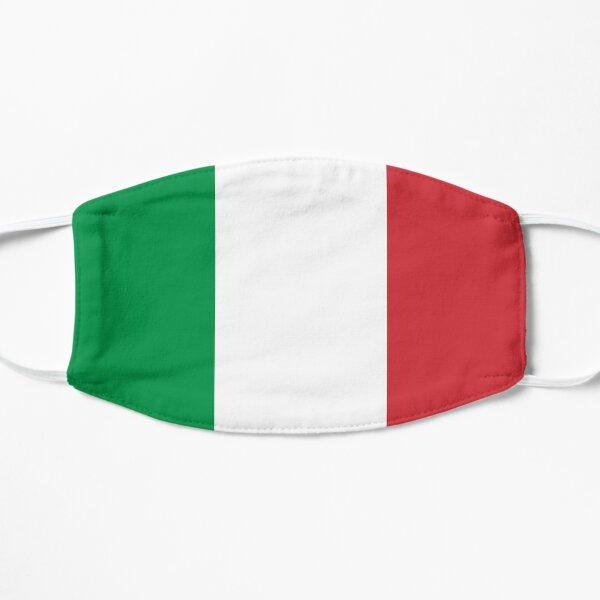 Italian flag Masque sans plis