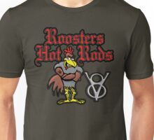 Roosters Hot Rods Unisex T-Shirt