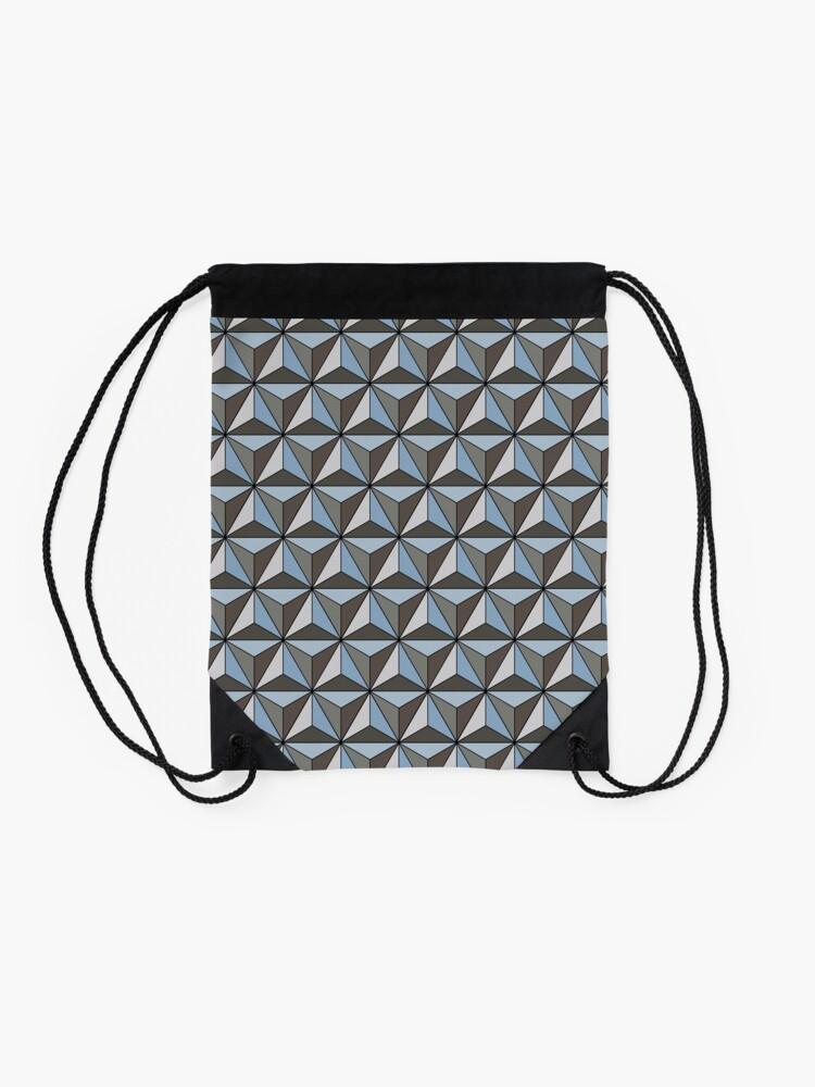 Alternate view of Spaceship Earth Drawstring Bag