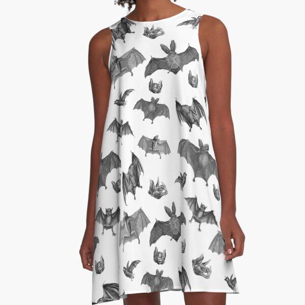 Batty Bats A-Line Dress