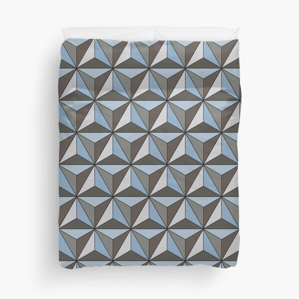 Spaceship Earth Duvet Cover
