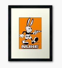 NUKE - Tweaked Framed Print