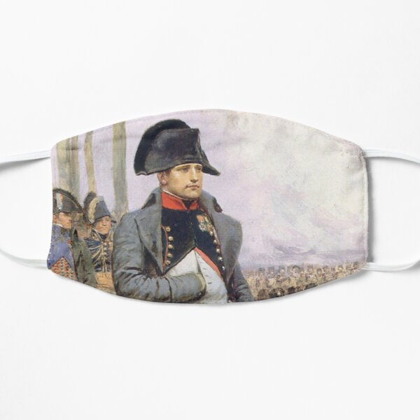 Napoleon. Represented in his Colonel uniform of the Chasseur à Cheval of the Imperial Guard. Mask