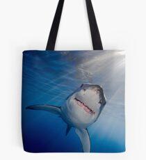 White Shark Tote Bag