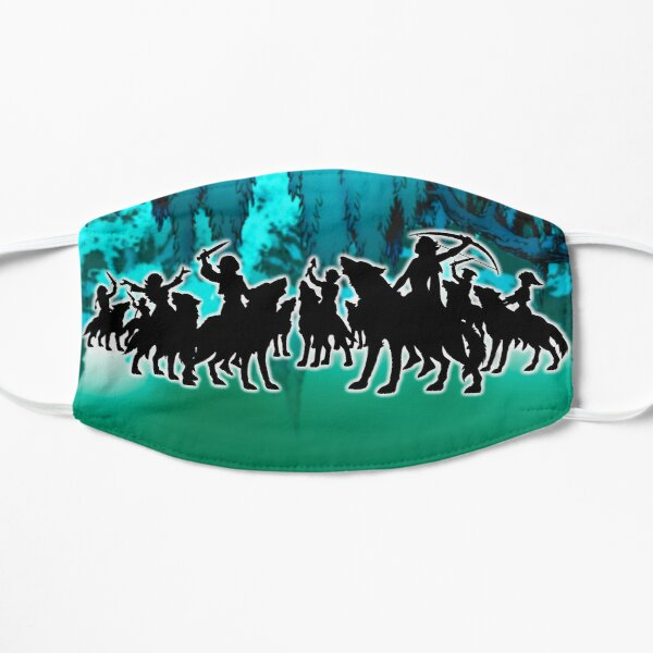 Elfquest - To Hunt, To Howl, To Live Free 1 Flat Mask