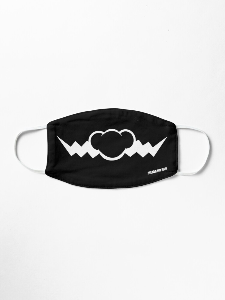 Alternate view of Game Zone Mustache Mask [Evil] Mask