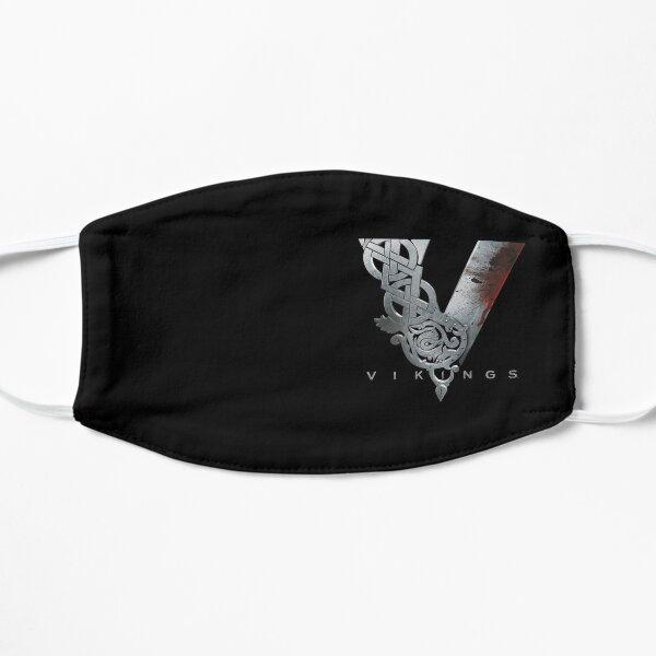 vikingos logo 2 Mascarilla plana
