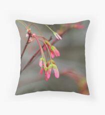 Maple Seeds Throw Pillow