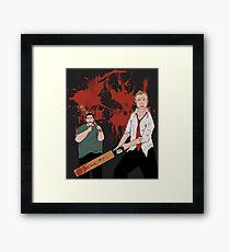 You've got red on you! Framed Print