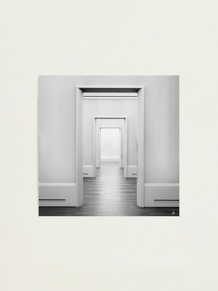 Alternate view of Doors Minimal Photographic Print
