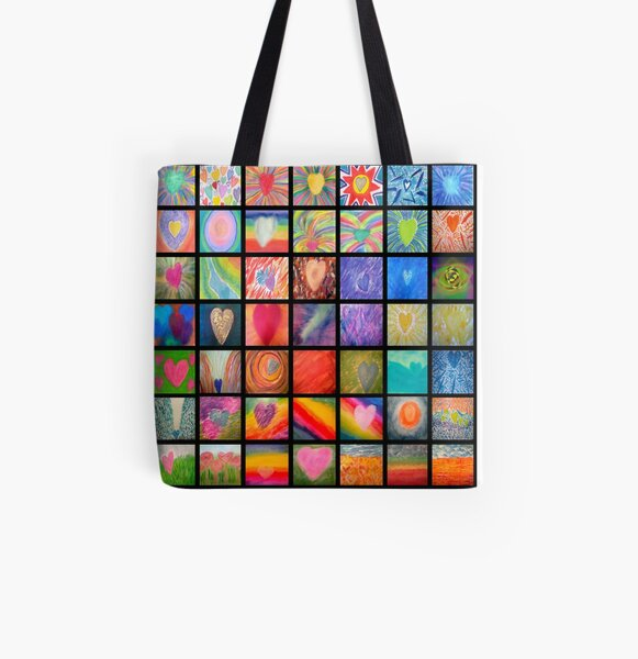 Heart Whispers Series 5 All Over Print Tote Bag