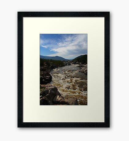 Snowy River NSW HDR #1 Framed Print
