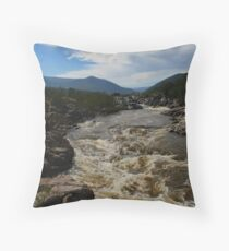 Snowy River NSW HDR #1 Throw Pillow