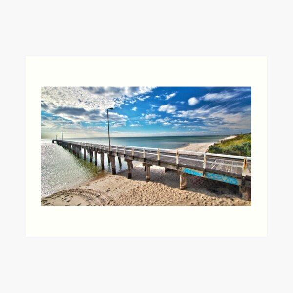 Seaford Pier Victoria, Mornington Peninsula, Australia, Seascape Art Print
