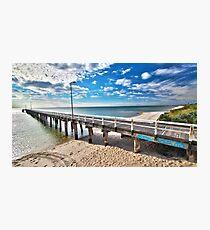 Seaford Pier Victoria, Mornington Peninsula, Australia, Seascape Photographic Print