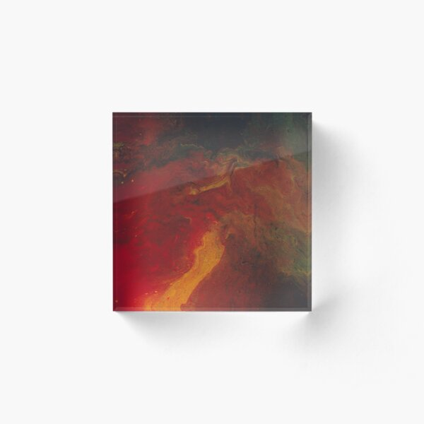 Magma Acrylic Block