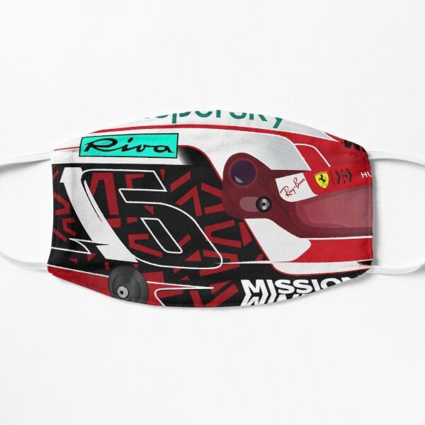 Charles Leclerc Helmet 2020 Flat Mask
