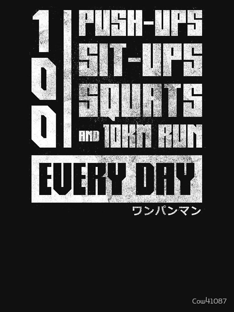 One Punch Man Regimen | Unisex T-Shirt