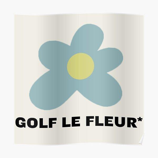 Golf Le Fleur Logotipo de la flor Tyler el creador Póster