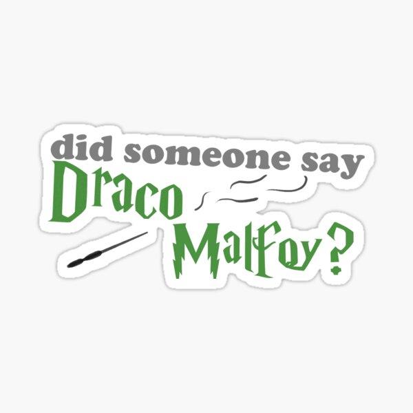 did someone say Draco Malfoy? Sticker
