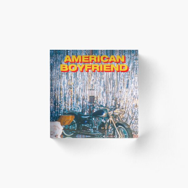 AMERICAN BOYFRIEND KEVIN ABSTRACT MOTORCYCLE :D Acrylic Block