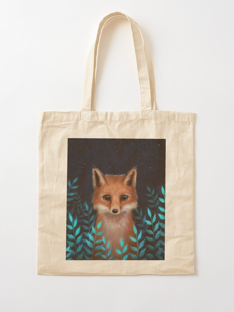 Alternate view of Fox Tote Bag