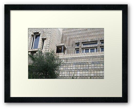 Ennis House, Frank Lloyd Wright by Jane McDougall