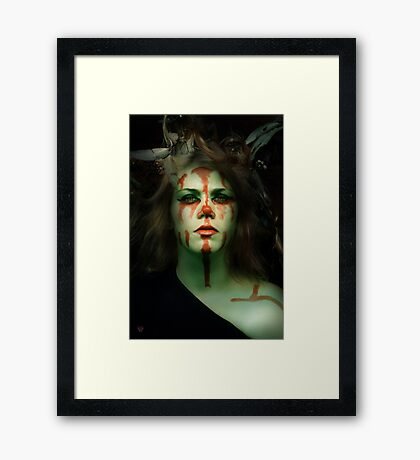 Scars of Future Hurts Framed Print