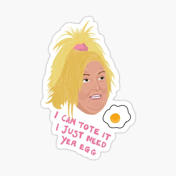 Angela - I Can Tote It - Egg - 90 Day Fiance Sticker