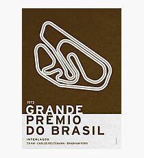 Legendary Races - 1973 Grande Premio do Brasil Photographic Print