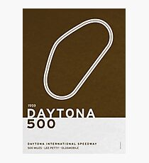 Legendary Races - 1959 Daytona 500 Photographic Print