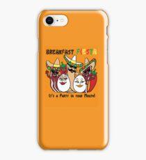 Breakfast Fiesta 3 iPhone Case/Skin