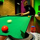 Billiards - Taking the shot by rsangsterkelly