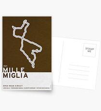 Legendary Races - 1927 Mille Miglia Postcards