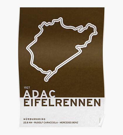 Legendary Races - 1927 Eifelrennen Poster