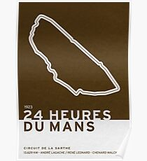Legendary Races - 1923 24 Heures du Mans Poster
